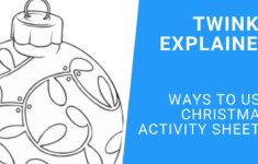 Christmas Activities Worksheets Twinkl
