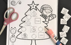 Free Christmas Articulation Worksheets