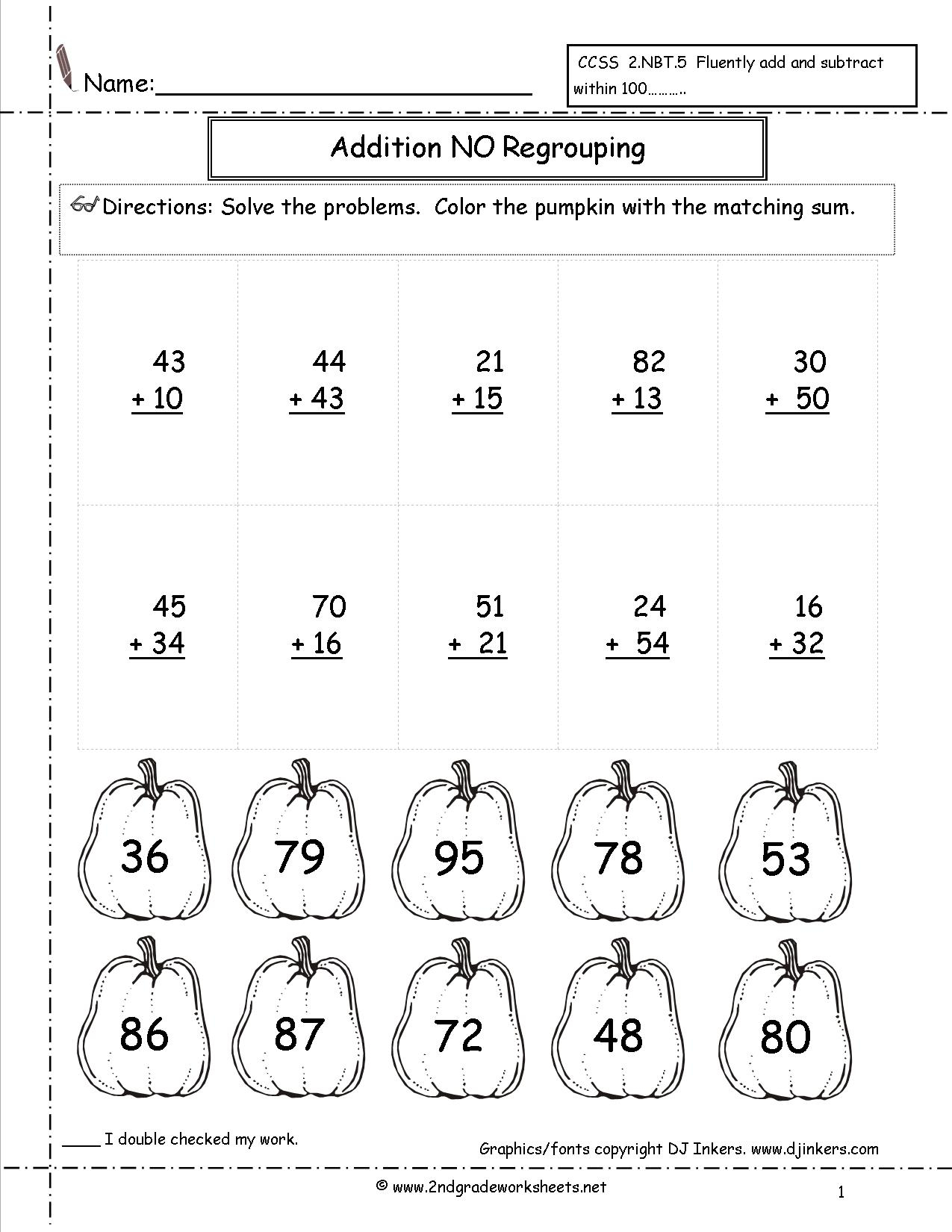 Free First Grade Worksheets To Print Teacher Appreciation