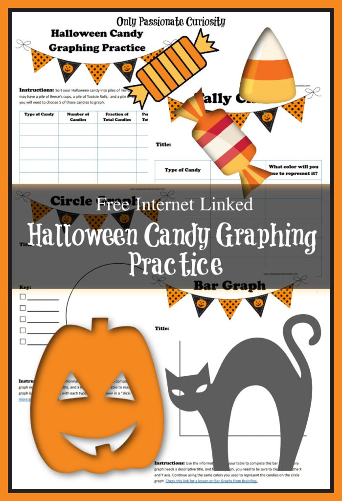 Free Halloween Candy Graphing Practice | Free Homeschool Deals ©