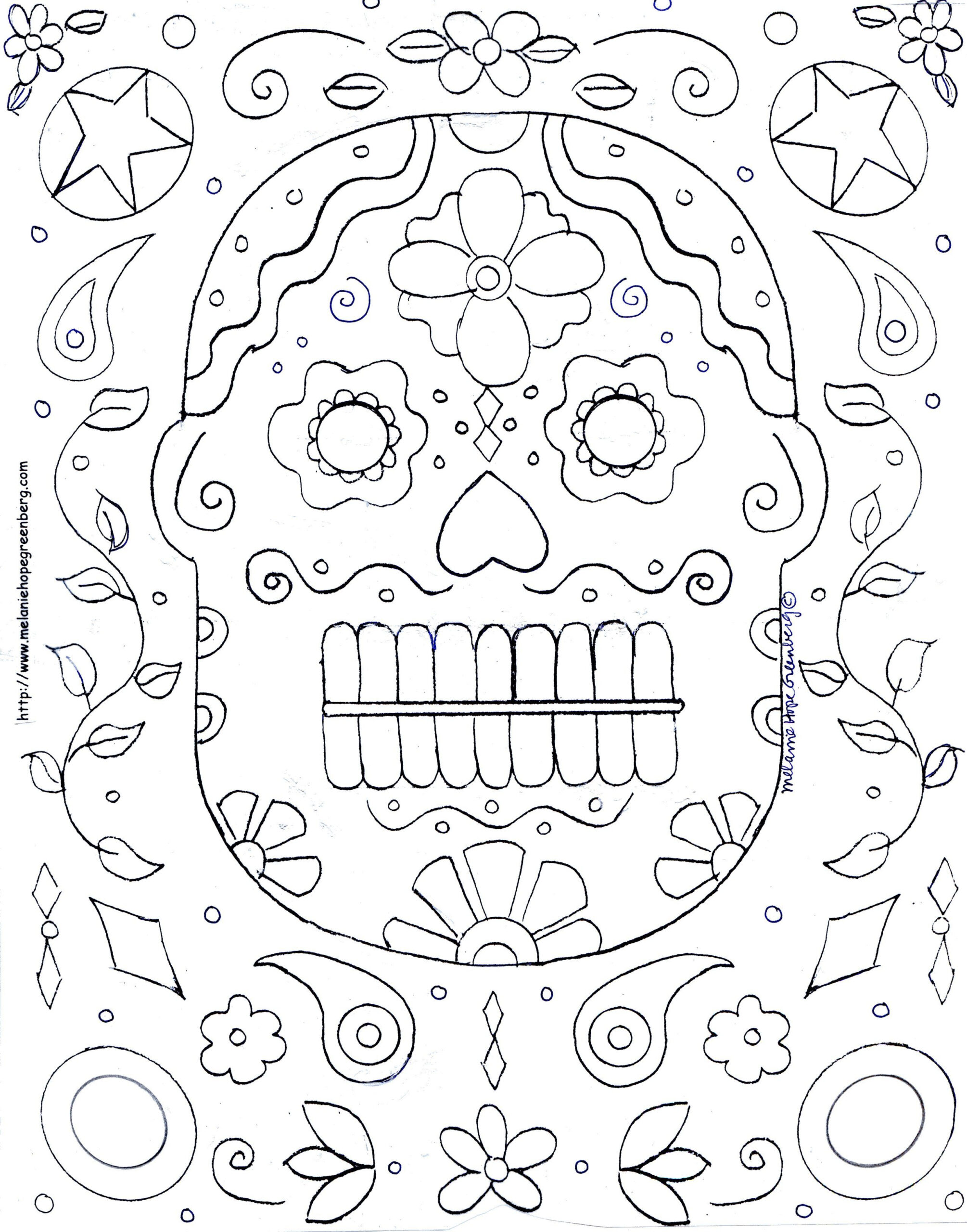 Free Halloween Mask Coloring Page | Halloween Coloring Pages
