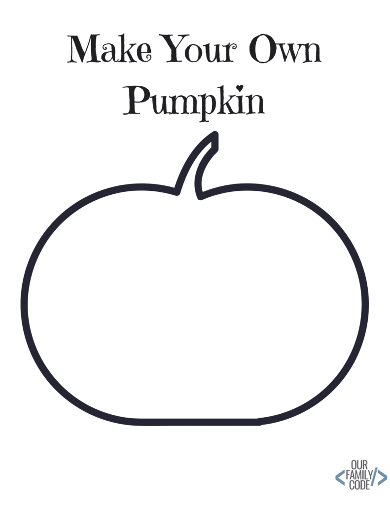 Free Halloween Worksheets For Kids!   Our Family Code
