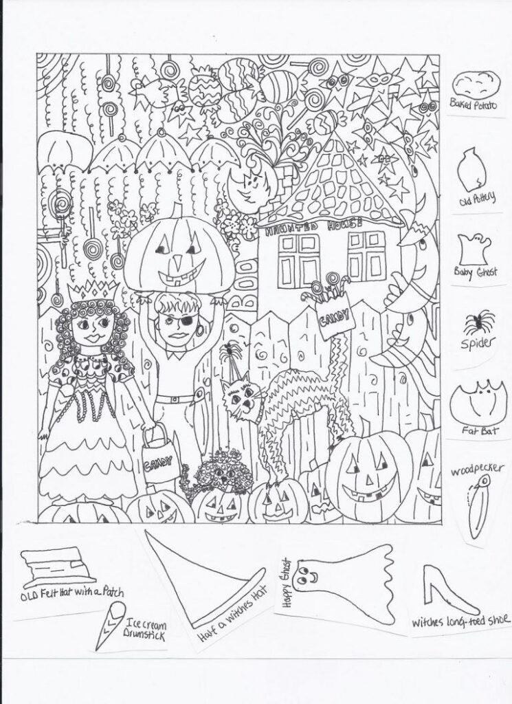 Free Hidden Pictures Worksheets | Hidden Pictures Printables