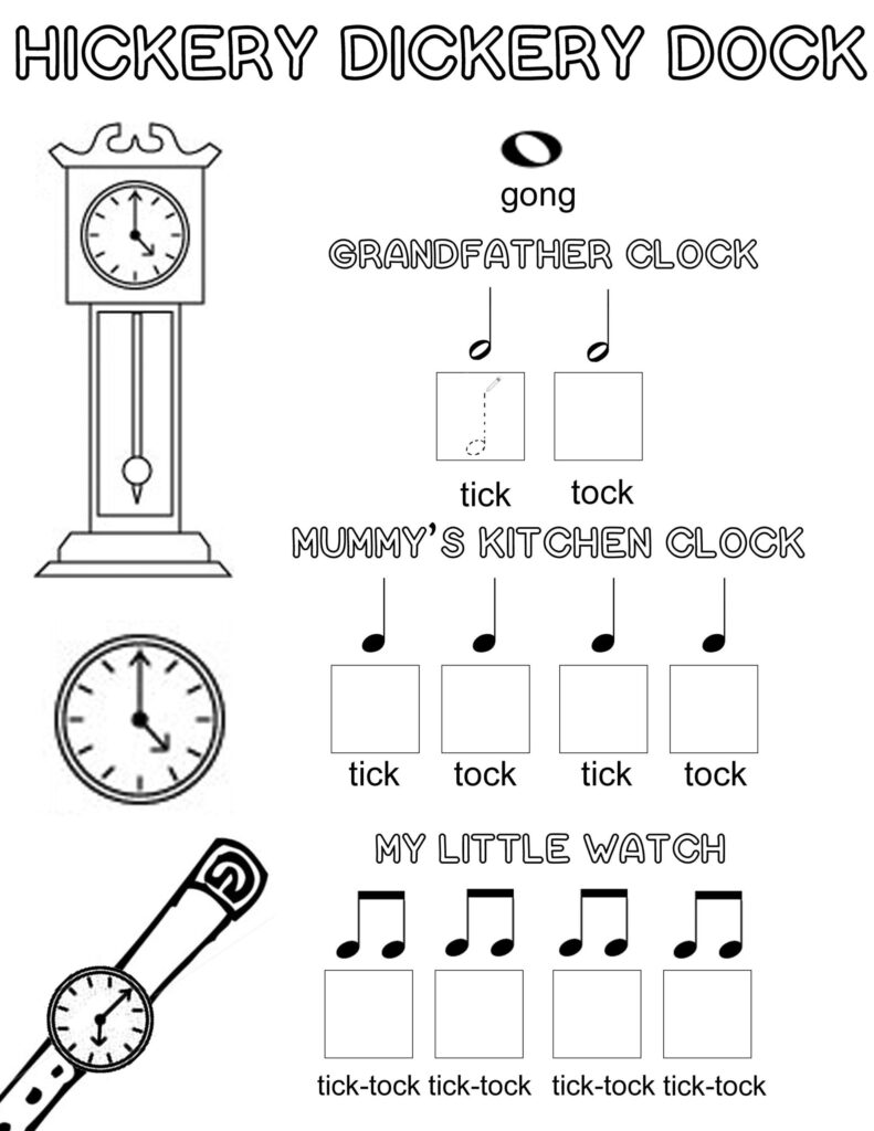 Free Music Theory Printable Colouring Activity With Images