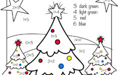 Free Christmas Worksheets For 1st Grade
