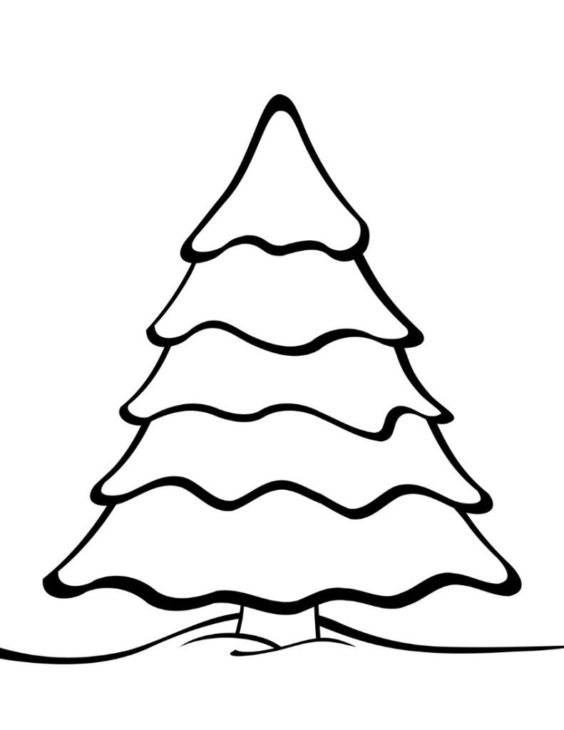 Free Printable Christmas Tree Templates | Christmas Tree