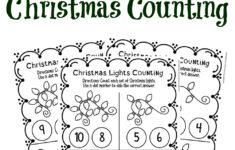Prek Christmas Worksheets
