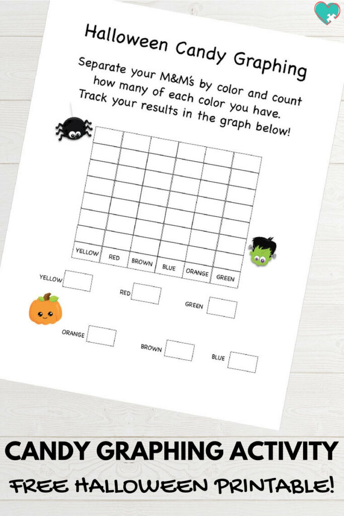 Free Printable Halloween Candy Graphing Activity   Autistic Mama