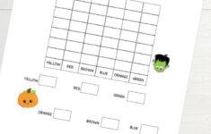 Halloween Graphing Activity Worksheet