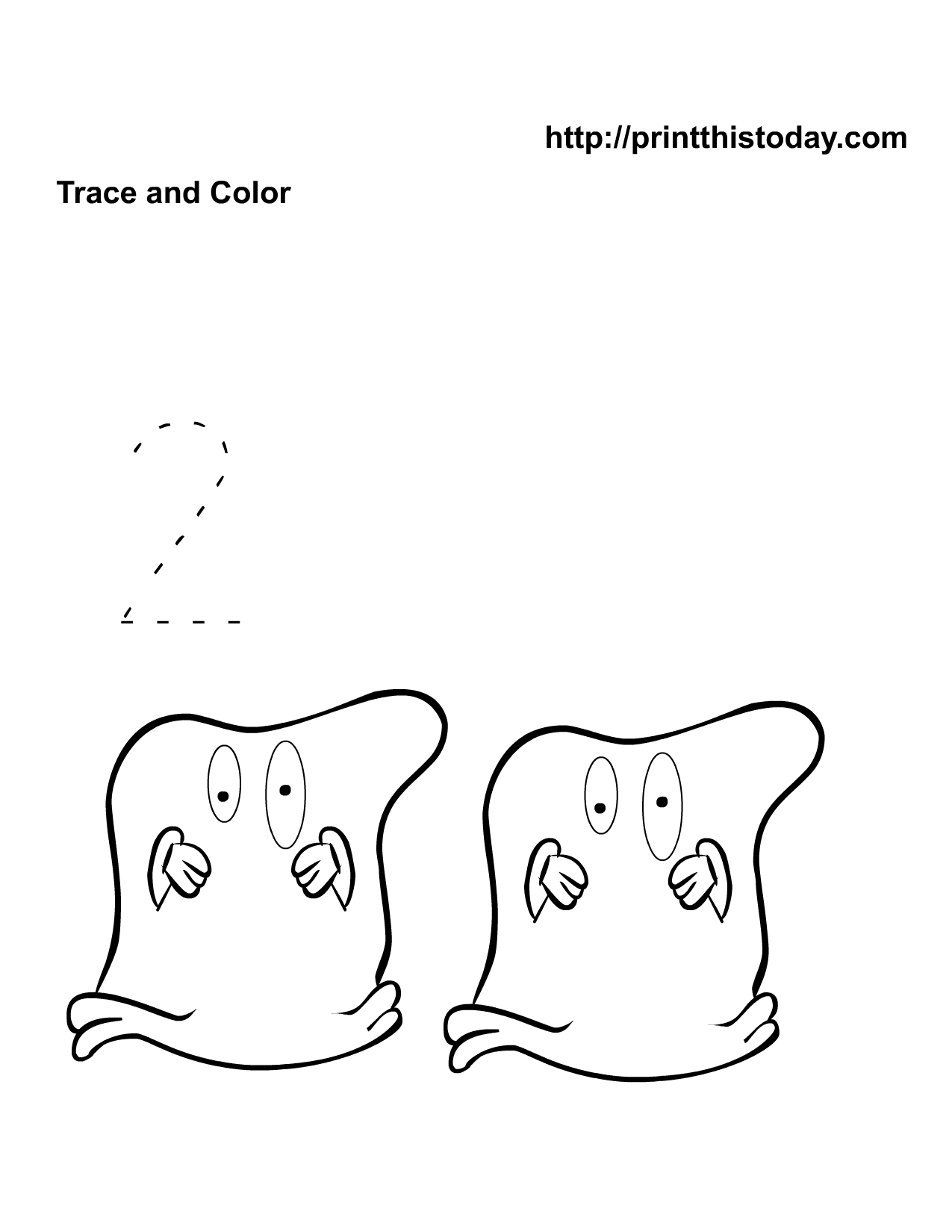 Free Printable Halloween Math Worksheets For Pre-School And