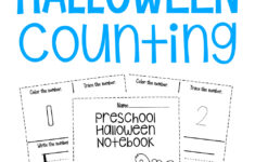 Halloween Numbers To 10 Worksheet