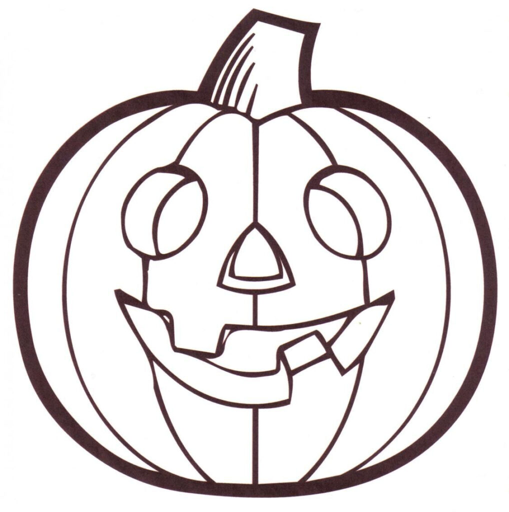 Free Printable Pumpkin Coloring Pages For Kids | Pumpkin