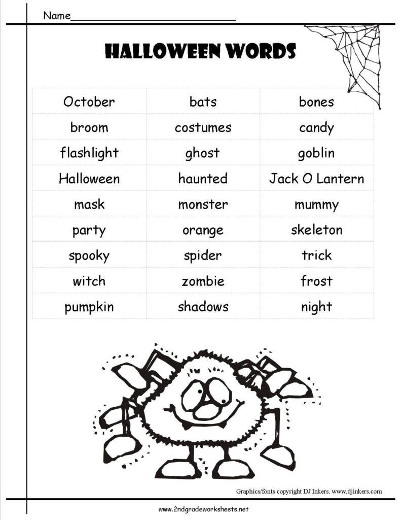 Free Printable Reading Comprehension Worksheets For 2Nd