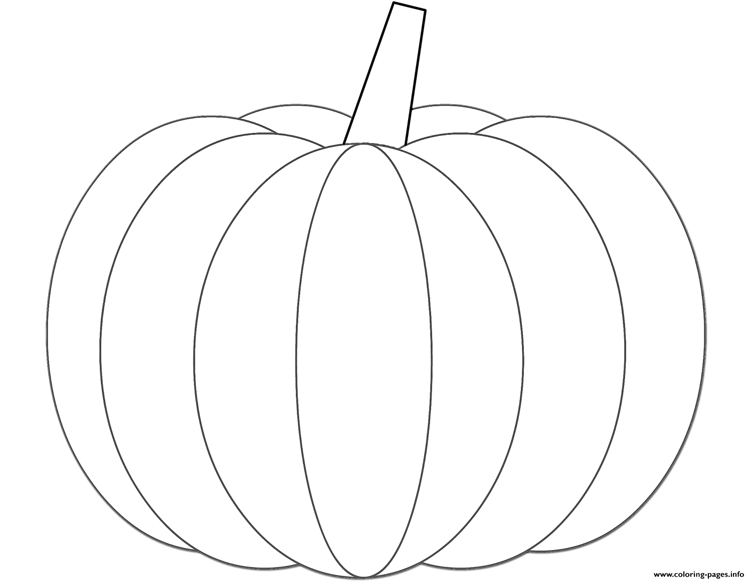 Free Pumpkin Pictures To Color Print And Fall For Halloween