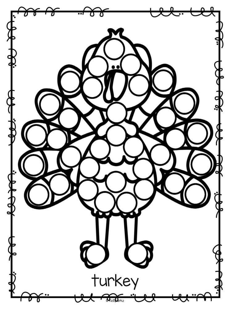 Free*** This Is A Turkey Printable Which Can Be Used As A