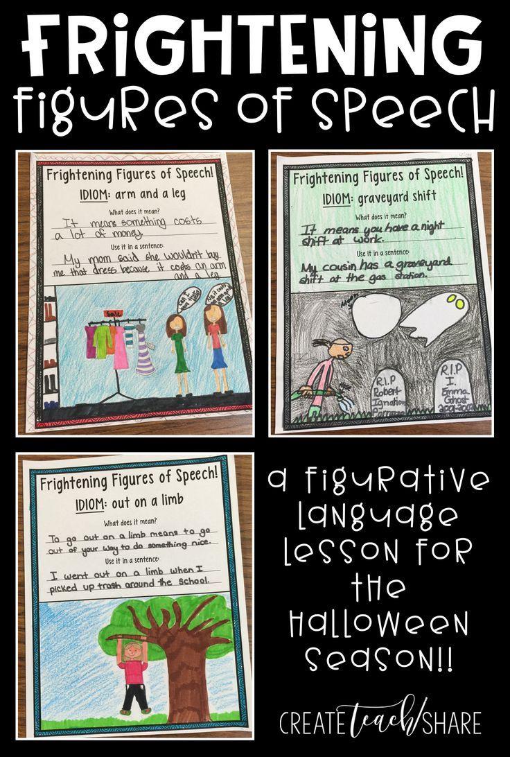 Frightening Figures Of Speech | Halloween Classroom
