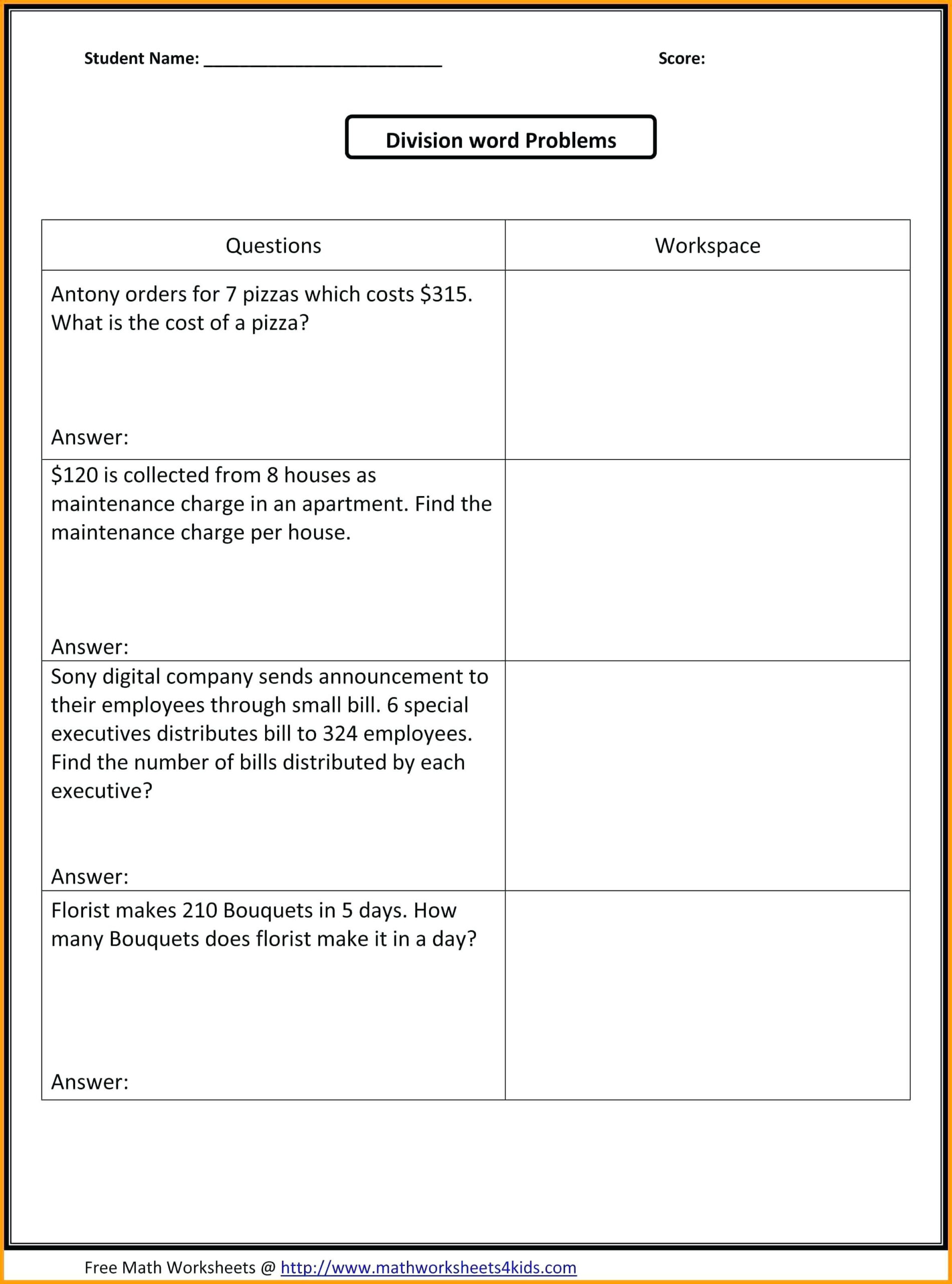 Fun Halloween Worksheets For 5Th Graders
