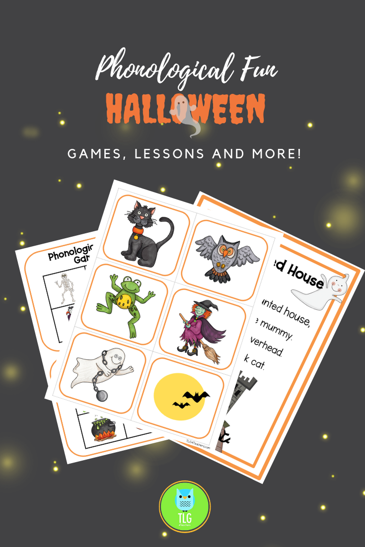 Grab This Easy To Prepare Halloween Phonological Awareness