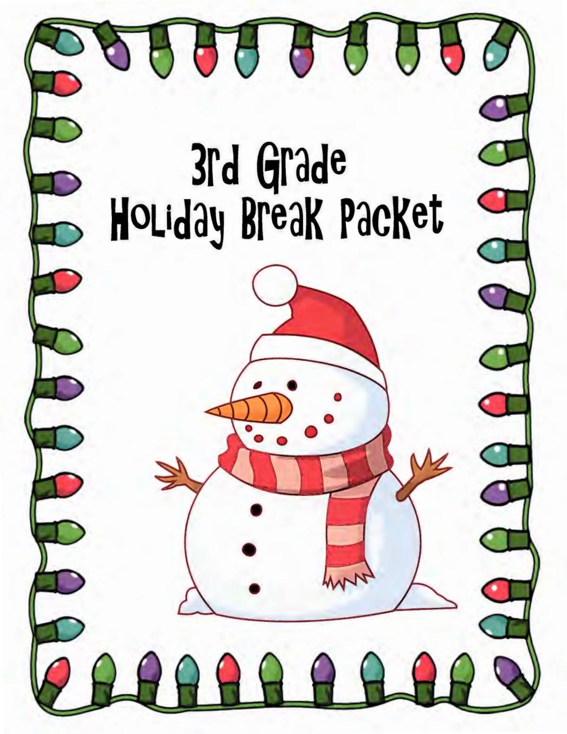 Grade 3 Christmas Packetronald De La Torre - Issuu