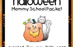 H Is For Halloween Preschool Worksheet