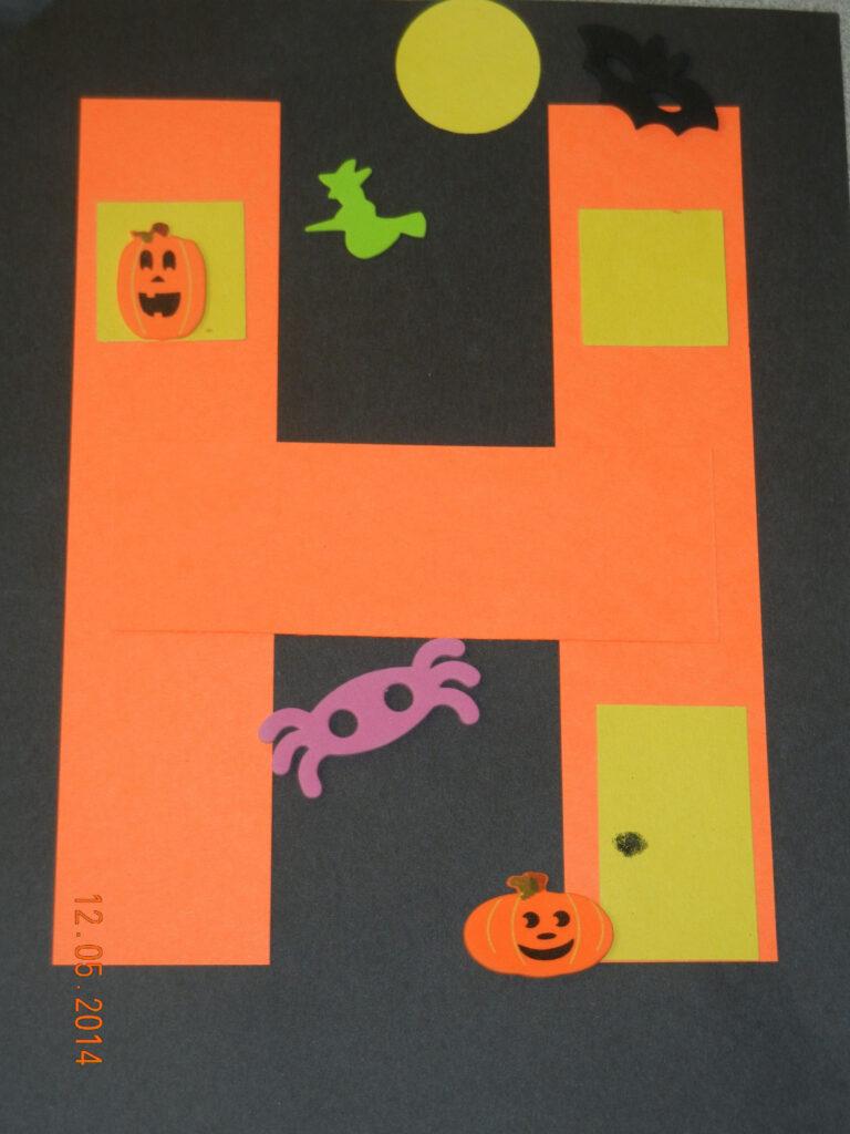 H Is For Haunted House   Halloween Preschool, Preschool