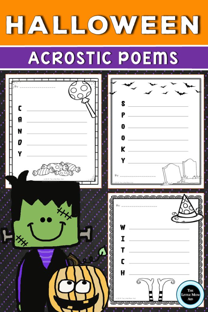 Halloween Acrostic Poems Pack   Creative Writing Activities