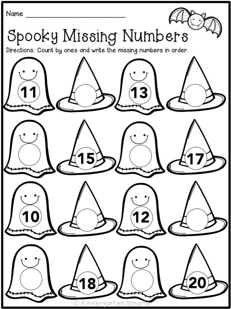 Halloween Activities For Kindergartners: Kindergarten Smarts