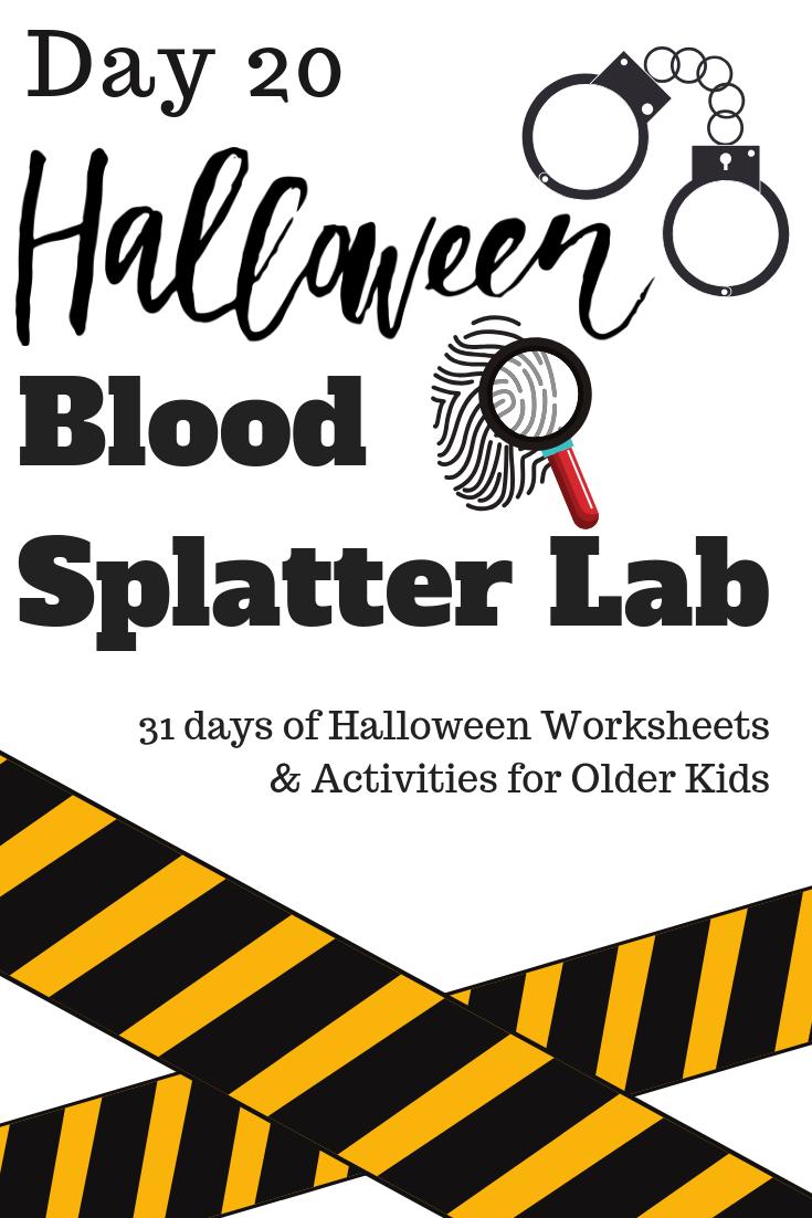 Halloween Activities For Middle School And Older