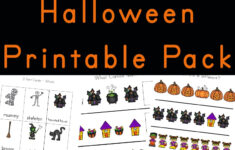 Halloween Worksheets Printables Pre K