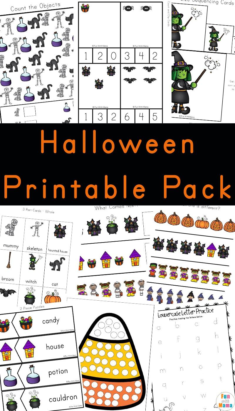 Halloween Activities For Preschoolers - Fun With Mama