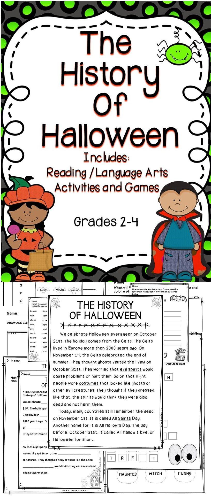 Halloween Activities | Halloween History, Halloween