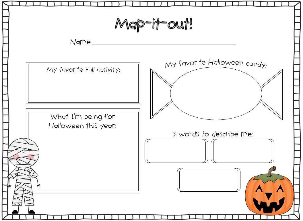 Halloween Activities - Susan Jones | Halloween Writing