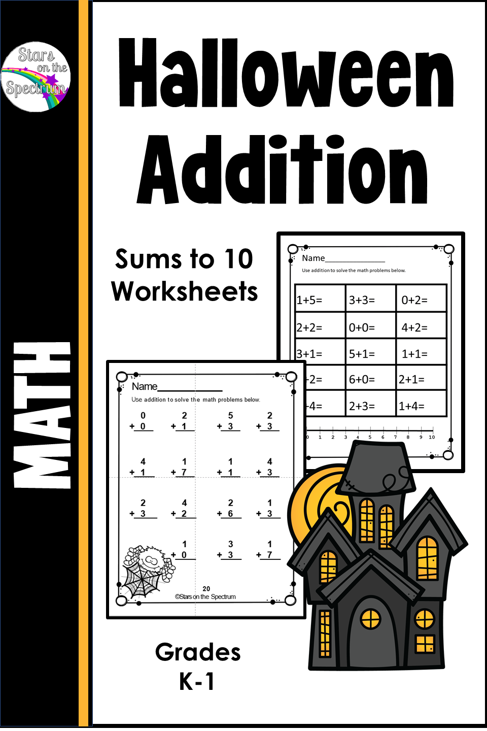Halloween Addition To 10 Halloween Worksheets In 2020