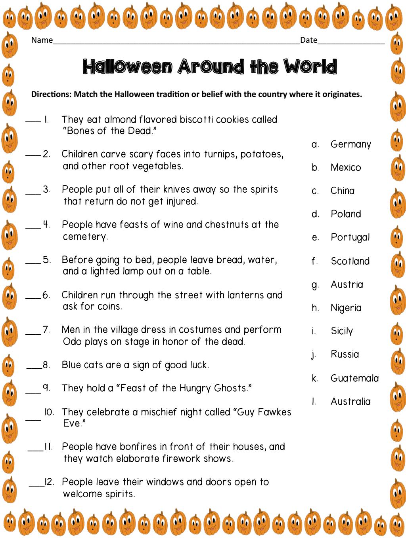 Halloween Around The World.pdf - Google Drive | Halloween