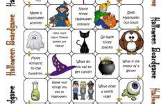 British Council Worksheet Halloween