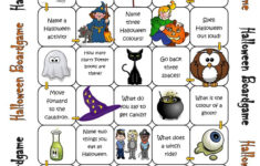 Halloween Worksheet Games