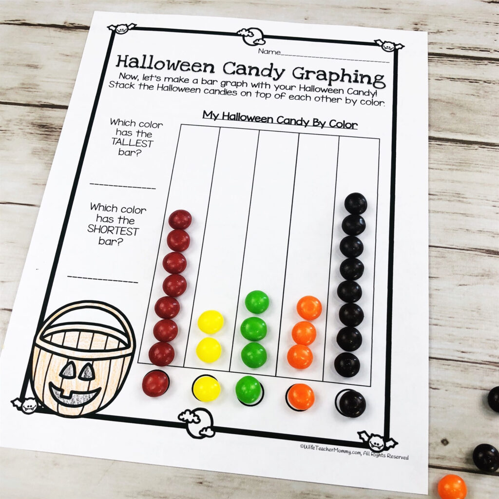 Halloween Candy Math Activities & More | Digital Download | Jane