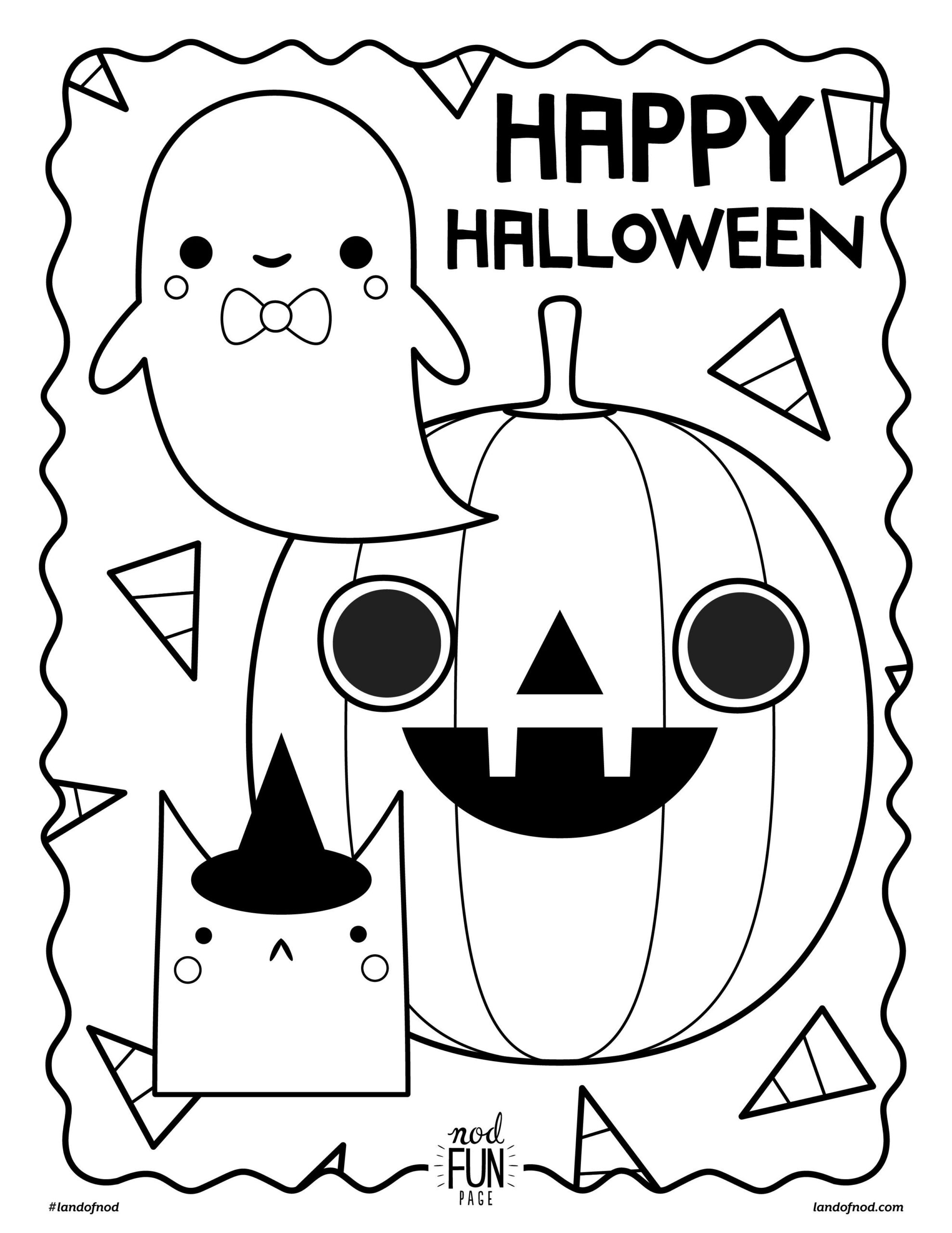 Halloween Coloring Pages For Adults Free Pdf Printable