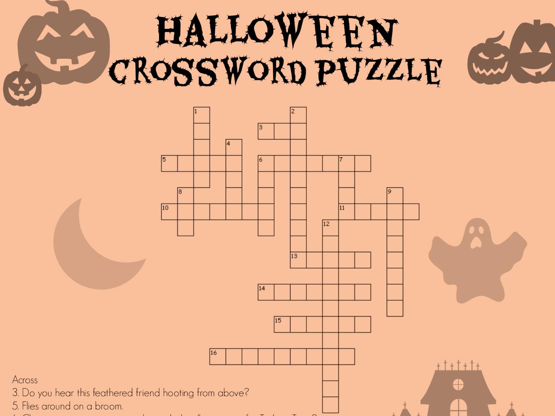 Halloween Crossword Worksheets Printables Scholastic Parents