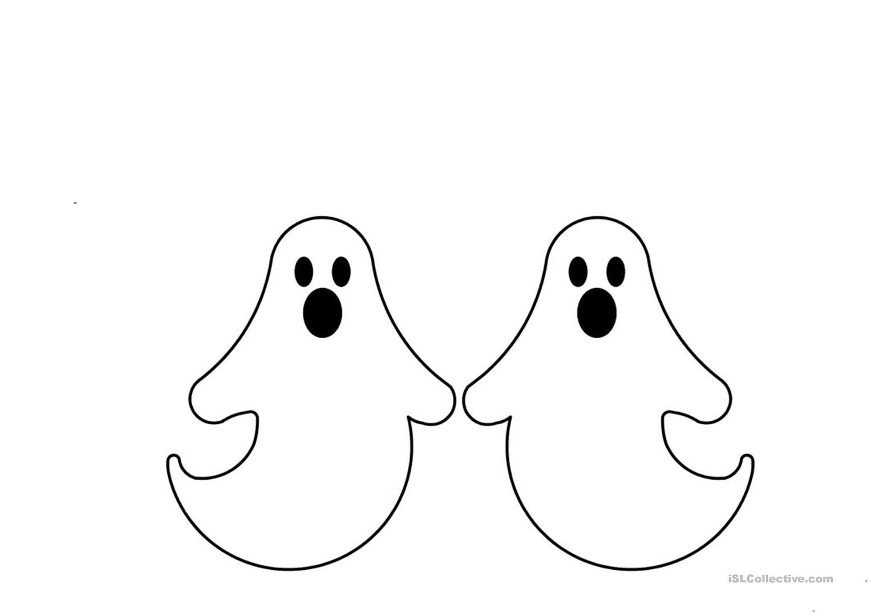 Halloween Decoration - English Esl Worksheets For Distance