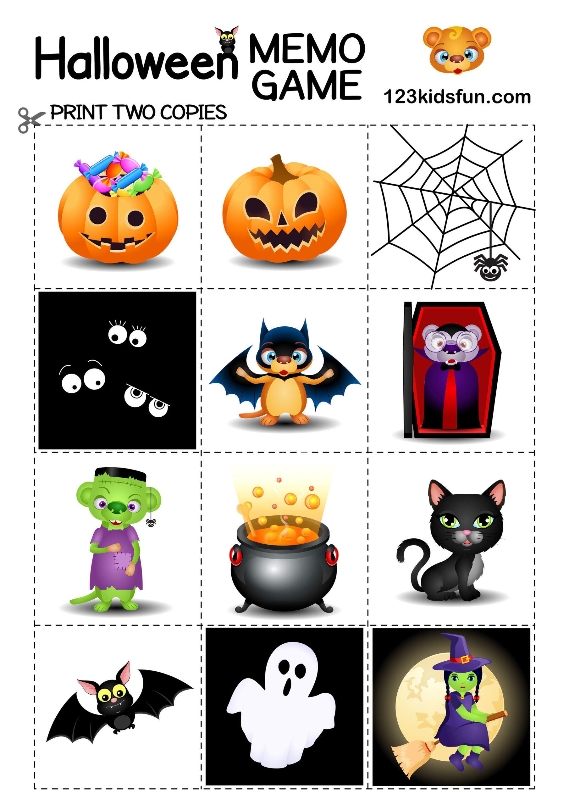 Halloween Decorations For Kids | 123 Kids Fun Apps