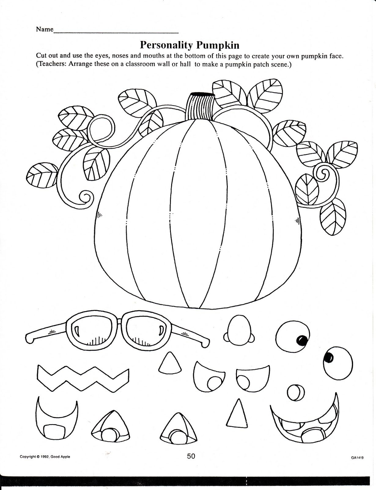 Halloween/fall Printables For Your Classroom Use | Halloween