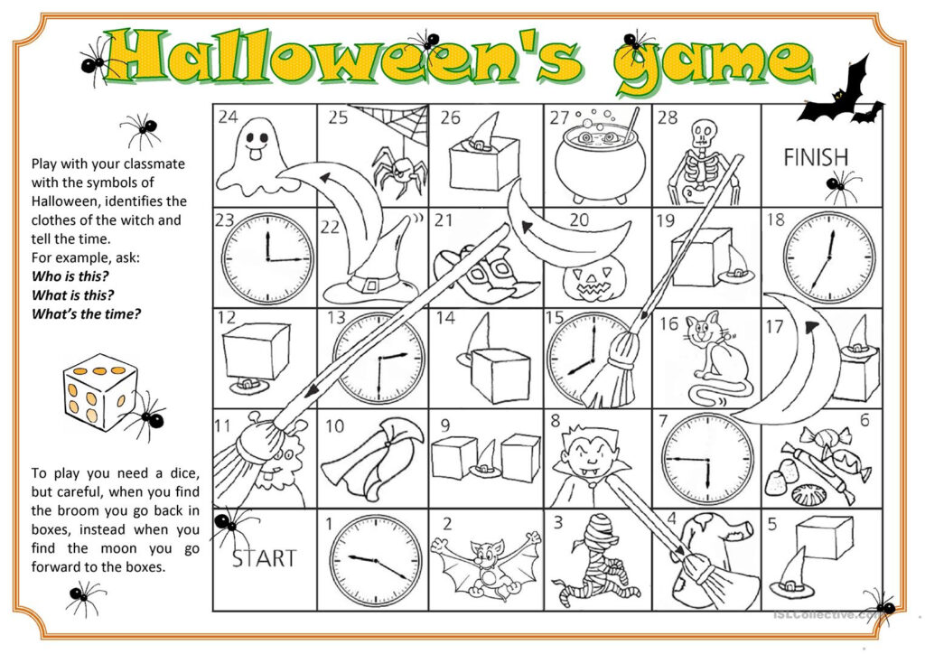 Halloween Fun   English Esl Worksheets For Distance Learning