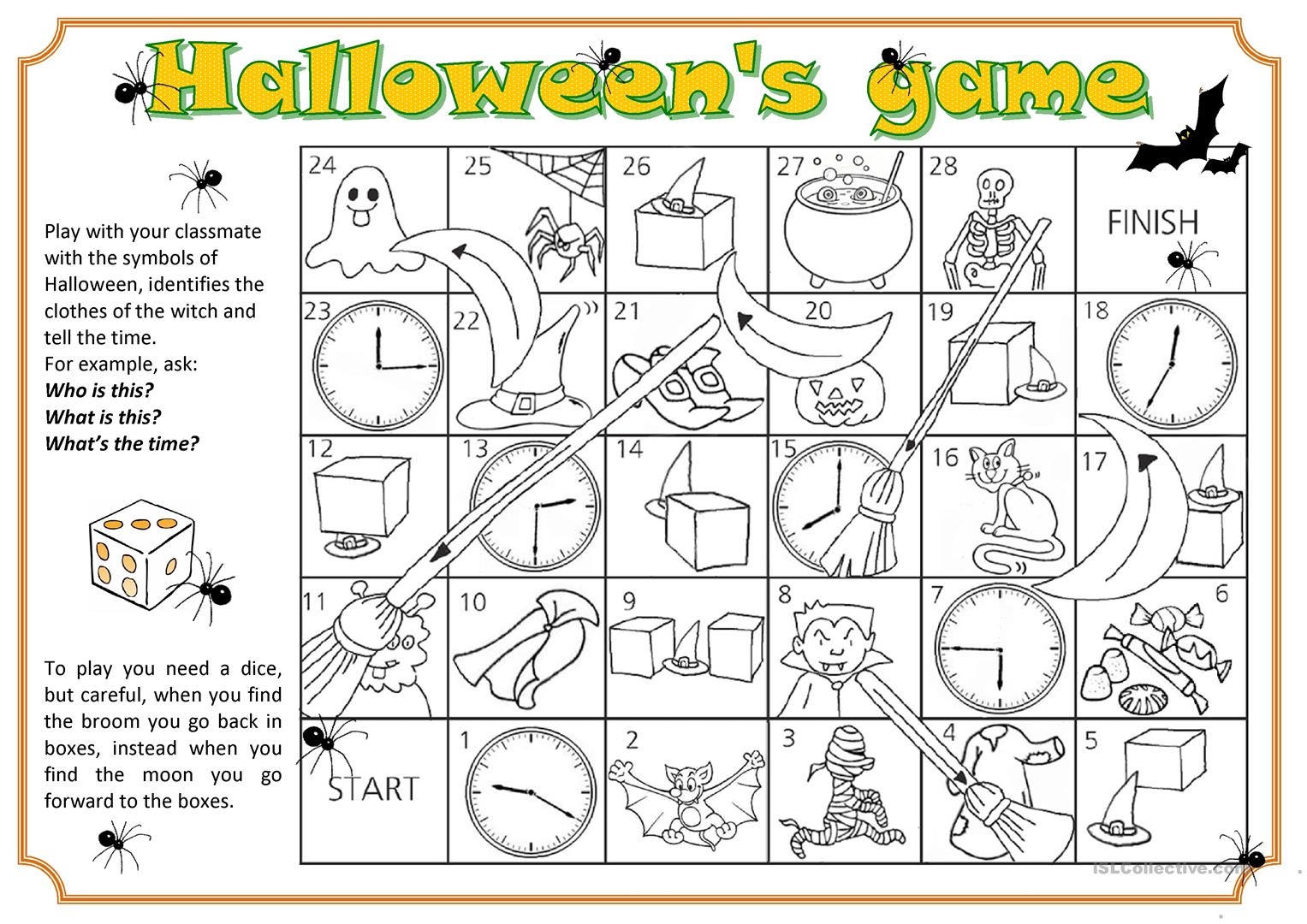 Halloween Fun - English Esl Worksheets For Distance Learning