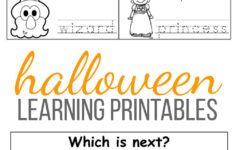 Halloween Worksheets Printables Free