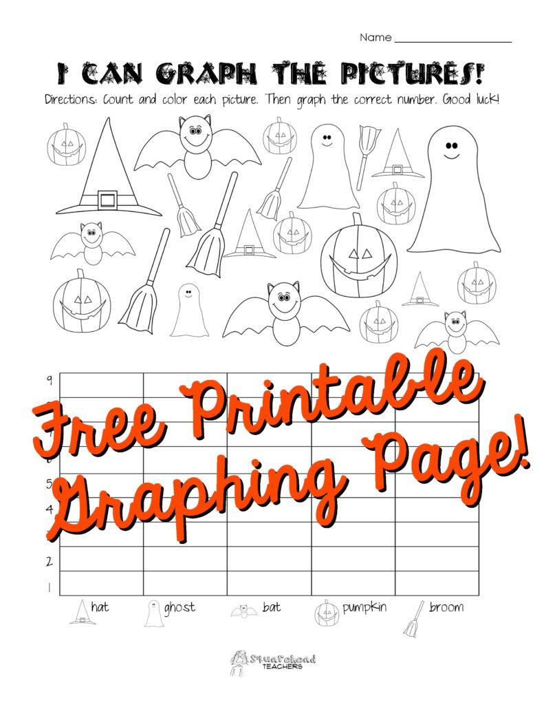 Halloween Graphing Page (Kindergarten, First Grade