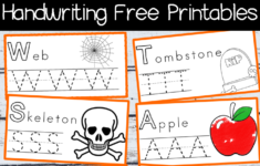 Halloween Writing Worksheets For Kindergarten