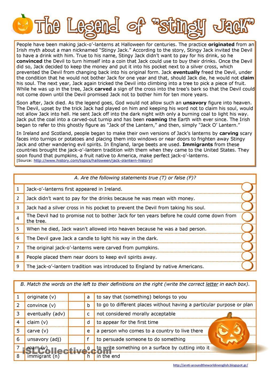 Halloween - History Of The Jack O' Lantern | Halloween