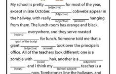 Halloween Classroom Printable Worksheets