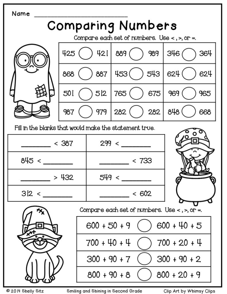 Halloween Math Freebie.pdf   Google Drive | Christmas Math